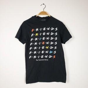 Friends TV series - Black short sleeve T shirt